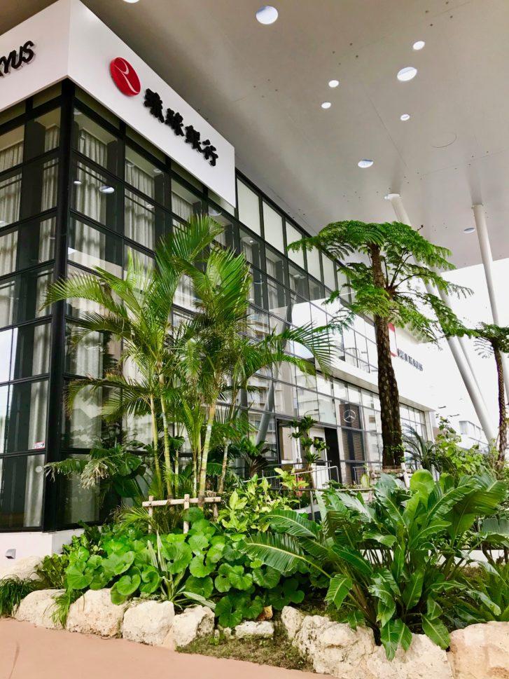 建築デザインいいね『琉球銀行』